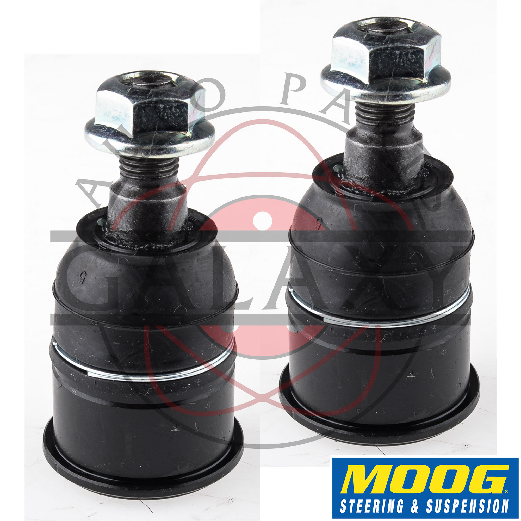 moog new replacement plete front lower ball joints pair for